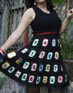 Crochet+Halter+Top+Pattern | crochet-cards-dress.jpg 425×542 pixels