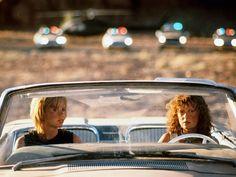 Geena Davis and Susan Sarandon in Thelma & Louise 1991
