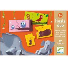 Djeco  Puzzle Duo Maman et Bébé