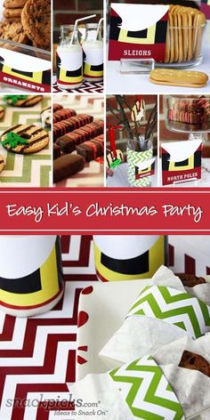 Easy Kids Christmas Party Ideas