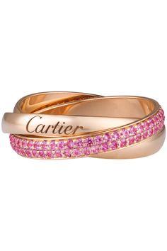 Trinity de Cartier Ring, Small Model