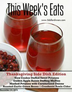 FREE WEEKLY MEAL PLAN on This Week's Eats