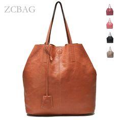 a8b6710087 Fashion Designer Genuine Leather Women Handbag Ladies Tote Shoulder Shopper  Bag