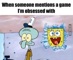 Me when someone mentions fnaf