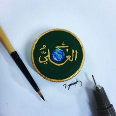 Micro art - Artist by  İbrahim Yazçiçek painting miniature