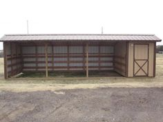 10x30 Horse Barn with Tack Room