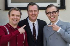 With Stephen Tompkinson, Mark Bonnar, Neil Maskell, Liz White. How Eddie Braben transformed Morecambe and Wise into the nation's most beloved entertainers. Bristol, Liz White, Morecambe, Studios, Me Tv, Entertaining, Tv 2017, Couple Photos, Film