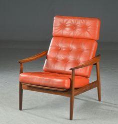 Arne Vodder, lounge chair, model 164 for France og Søn.