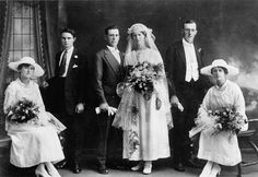 Wedding portrait, 1910s