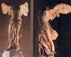Nike of Samothrace (Winged Victory) C. 200 BC, discovered in 1863. I am LIVING to see this in person.
