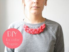 diy collier traphilo