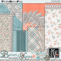 Butterfly Kisses Lace Papers