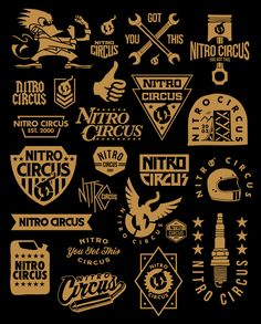 Lincoln Design Co. is a brand design and creative agency located in Portland, Oregon. Tattoo Lettering Fonts, Graffiti Lettering, Typography Logo, Logo Branding, Nitro Circus, Toyota Tacoma Trd, Triumph Motorcycles, Custom Motorcycles, Monster Energy