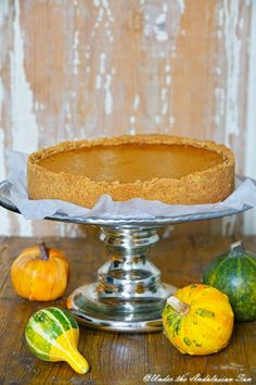 Spicy pumpkin pie - just what is needed right now! (and can be made gluten-free too!)