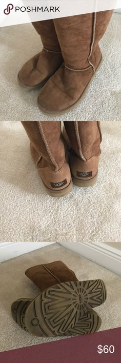 Ugg Boots Worn for a winter season in Florida. Minor wear on the sheepskin and soles. Great condition!!! UGG Shoes Winter & Rain Boots