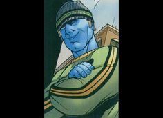 He can change the colour of his skin to Blue...Worst Mutant Power ever...