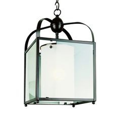 Bel Air Lighting 16-in W Oil-Rubbed Bronze Pendant Light with Clear Shade