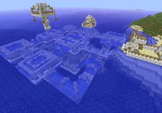 Underwater House Minecraft Project #CoolBuildings