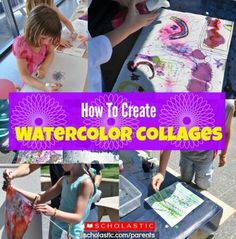 Your child will love this unique collage craft activity!