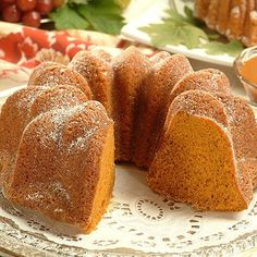 Perfect for fall and Thanksgiving entertaining, this Butterscotch Pumpkin Cake combines delicious butterscotch morsels, cinnamon, nutmeg and pumpkin together to form a dense but moist cake.