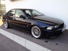 """BMW e39 M5 Carbonschwarz Leder 19"""" BBS Le Mans EISENMANN Bilstein Gewinde...M3 in in Hildrizhausen"""