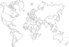 free printable world maps has printable maps of the world and several outline world maps make your selection and get a printable page to print your free