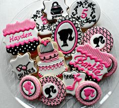Barbie Birthday! by Vicki's Sweets, via Flickr