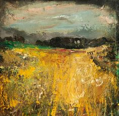 ☼ Painterly Landscape Escape ☼ landscape painting by Joan Kathleen Harding Eardley, The Cornfield Abstract Landscape, Landscape Paintings, Abstract Art, Abstract Paintings, Paintings I Love, Your Paintings, Art Uk, Painting Inspiration, Contemporary Art