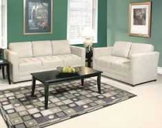 Sienna Stone Sofa & Loveseat $498 (as of 03/03/15) | American Freight