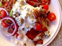 Lettuce Wedge Salad - Like Outback