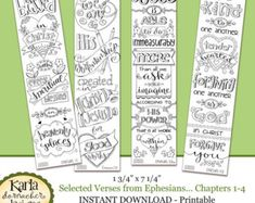 NEW BEGINNINGS New Year Color-Your-Own Bookmarks by karladornacher