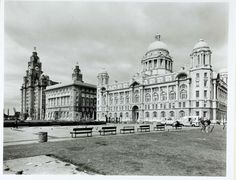 Southport, Everton, Old Photos, Liverpool, Louvre, Building, Prints, Travel, Old Pictures