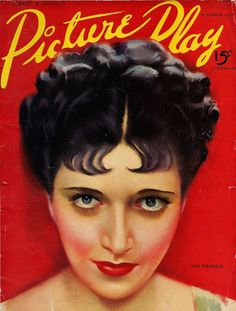 Kay Francis~ cover of Picture Play magazine, 1937...