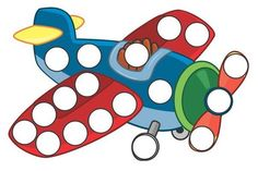 Transportation Toys Do-a-Dot Printables with 29 activity pages Perfect for… Montessori Activities, Color Activities, Preschool Activities, Transportation Crafts, Dotted Page, Do A Dot, Worksheets For Kids, Pre School, Preschool Crafts