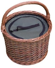 Grab your Round Cool Picnic Basket at a great price and enjoy shopping. http://redhamper.co.uk/round-cool-picnic-basket/  #drinksbaskets #shoppingbaskets