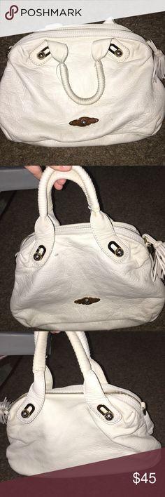 Elliot Lucas Cute handbag with detailed handles. Very soft leather Elliott Lucca Bags Shoulder Bags