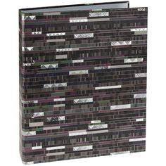 Ringbuch Factum mit 2-Ring Einband: Naturpapier mit Silberprägung und Relief / 2-Ring Mechanik / Größe: 26,3 x 32 cm
