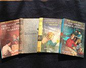 8 Vintage Book Covers Recycled Altered Art Journal by jammatun, $7.50