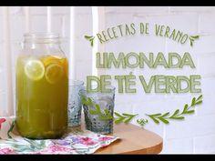 Cómo hacer Limonada de té Verde Matcha ♥.