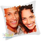 Personalizzalo con foto e testi una perfetta idea regalo! Federa cuscino stampata con foto sia sul fronte che sul retro.