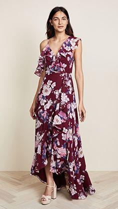 Drop Waist Pleated A-Line Dress in Wine in L  5342b1113