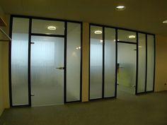 Die besten 25 glastrennwand ideen auf pinterest glas b ro b roraumgestaltung und - Glastrennwand wohnbereich ...