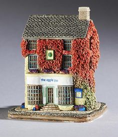 Made In Great Britain Lilliput Lane Alfresco Afternoons