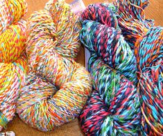 What It Is: One-of-a-kind yarn hand-spun from recycled Balinese sarongs. Why We Love It: While reducing waste, the proceeds from this yarn go to providing safe shelter, healthcare, and education to families in Nepal and Indonesia. Earth Friendly Yarns; earthfriendlyyarns.com/