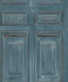 Library Panel Teal wallpaper by Albany