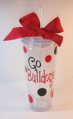 Cute Cheer Gifts.....Personalized Team Tumbler