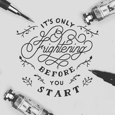 Words to live by. Type by @willpat   #typegang if you would like to be featured   typegang.com