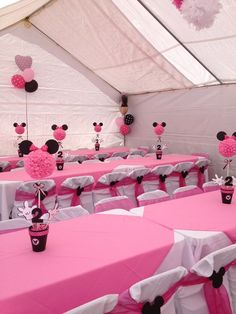 Minnie Mouse Party Decorations Minnie Mouse Party In 2019 Minnie