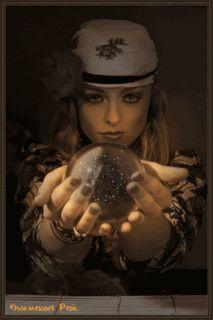 gypsy gif | Gypsy Woman With Crystal Ball gif by furiataurina1010 | Photobucket