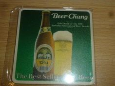 EN. aug THAILAND  CHANG OLD beer coasterN NR29 Beer Mats, Beer Coasters, Thailand, Asia, Bottle, Ebay, Flask, Beer Bottle Caps